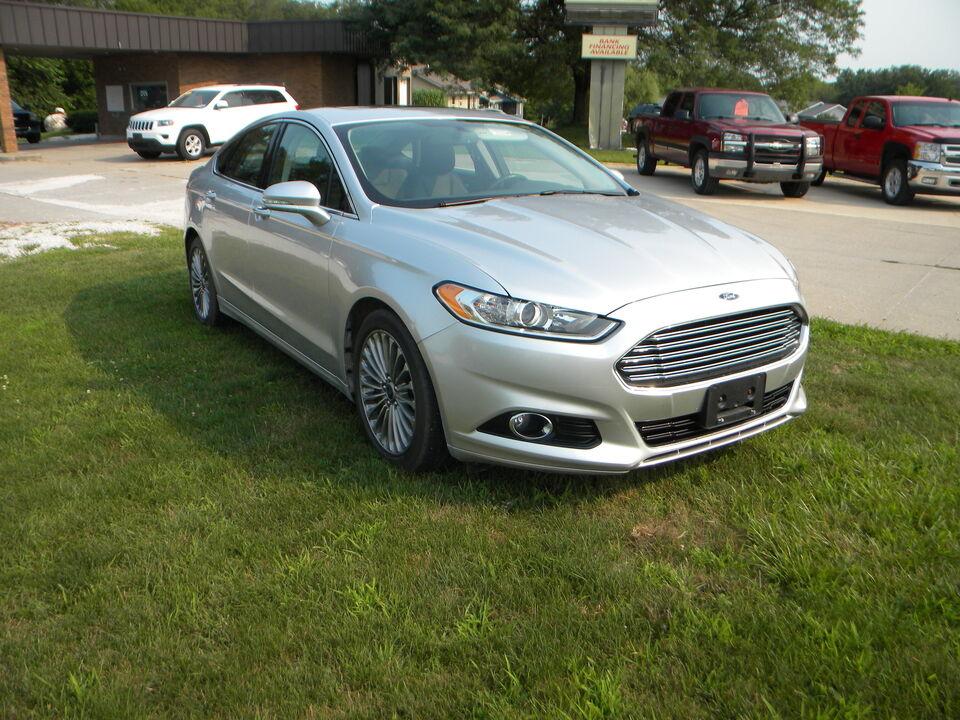 2014 Ford Fusion Titanium  - 325515  - Merrills Motors