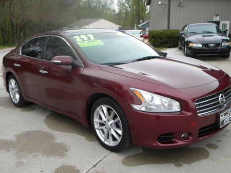 2010 Nissan Maxima 3.5 SV w/Premium Pkg for Sale  - 325432  - Merrills Motors