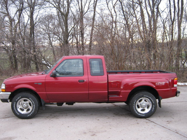 1999 Ford Ranger Xlt - Stock   B98003