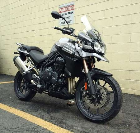 2015 Triumph Tiger Explorer 0% APR for Sale  - 15 TIGER EXPLORER (GRAPHITE)  - Triumph of Westchester
