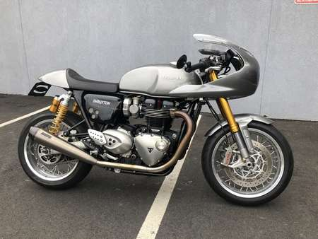 2017 Triumph Thruxton 1200 R for Sale  - 17TRITHRUXTONR-213  - Triumph of Westchester