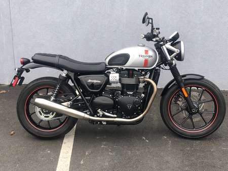 2016 Triumph Street Twin  for Sale  - 16STREETTWIN-644  - Triumph of Westchester