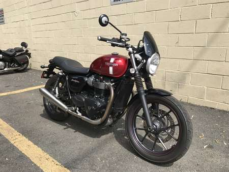 2016 Triumph Bonneville STREET TWIN for Sale  - 16TRI/STTWIN-827  - Triumph of Westchester
