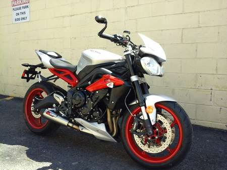 2015 Triumph Street Triple R X for Sale  - 15TRI/ST3RX-873  - Triumph of Westchester