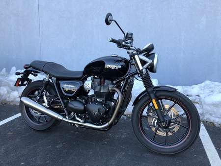 2017 Triumph Street Twin  for Sale  - 17TRISRTTWIN-491  - Triumph of Westchester