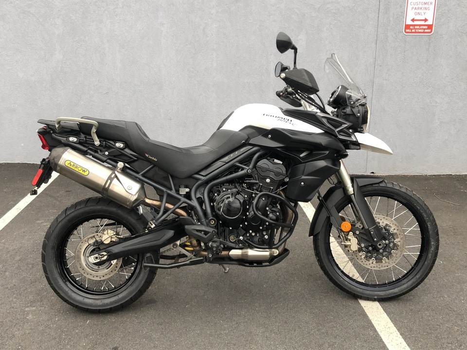 2012 Triumph Tiger 800XC  - 12TIGER800XC-202  - Indian Motorcycle