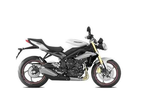 2016 Triumph Street Triple  for Sale  - 16 STREET TRIPLE (WHITE)  - Triumph of Westchester