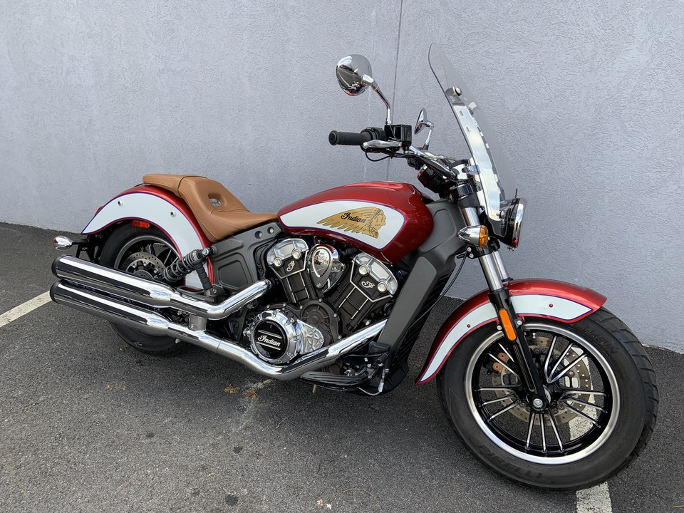 2020 Indian Scout ICON ABS  - 20SCOUT-229  - Indian Motorcycle