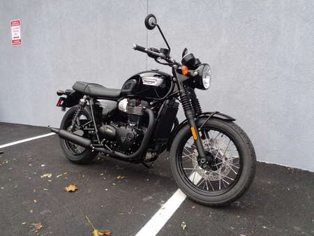 2018 Triumph Bonneville T100  for Sale  - T100 BLACK (JET BLACK)  - Triumph of Westchester