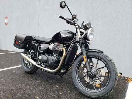 2018 Triumph Street Twin WITH URBAN PACKAGE for Sale  - 18STREETTWIN-735  - Triumph of Westchester