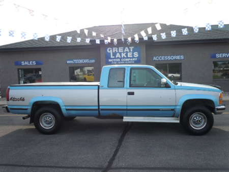 1993 Chevrolet C2500 C/K 2500 4WD Extended Cab for Sale  - 1346M  - Great Lakes Motor Company