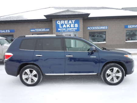 2013 Toyota Highlander Limited 4WD for Sale  - 1467  - Great Lakes Motor Company