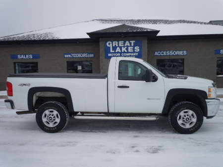 2011 Chevrolet Silverado 2500HD Work Truck 4WD Regular Cab for Sale  - 1470  - Great Lakes Motor Company