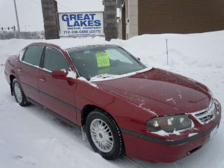 2005 Chevrolet Impala Base for Sale  - 1475  - Great Lakes Motor Company