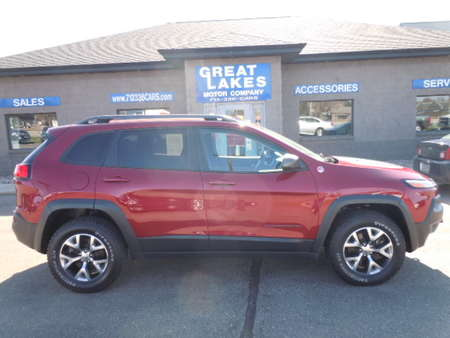 2015 Jeep Cherokee Trailhawk 4WD for Sale  - 1487  - Great Lakes Motor Company