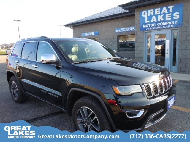 2019 Jeep Grand Cherokee Limited  - 1492  - Great Lakes Motor Company