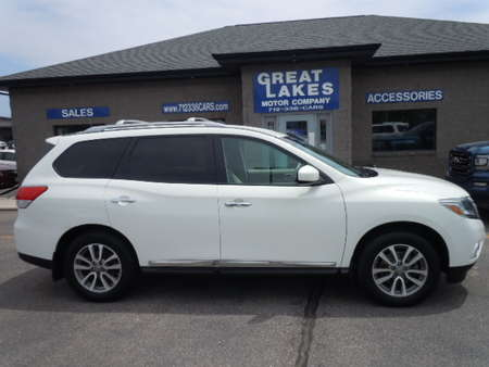 2013 Nissan Pathfinder SL 4WD for Sale  - 1378A  - Great Lakes Motor Company