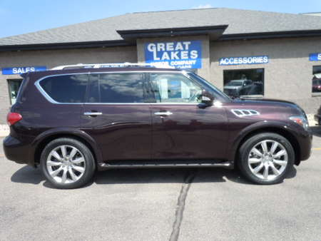 2012 Infiniti QX56 7-passenger 4WD for Sale  - 1515  - Great Lakes Motor Company