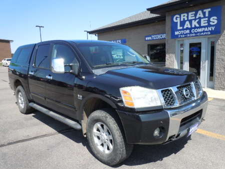 2004 Nissan Titan LE 4WD Crew Cab for Sale  - 1534A  - Great Lakes Motor Company