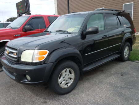 2002 Toyota Sequoia Limited 4WD for Sale  - 1536A  - Great Lakes Motor Company