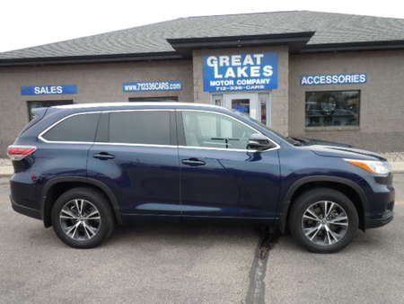 2016 Toyota Highlander XLE AWD for Sale  - 1555  - Great Lakes Motor Company