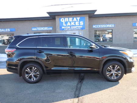 2016 Toyota Highlander XLE AWD for Sale  - 1556  - Great Lakes Motor Company
