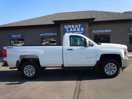 2018 Chevrolet Silverado 3500HD Work Truck 4WD Regular Cab for Sale  - 1557  - Great Lakes Motor Company