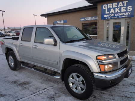 2012 Chevrolet Colorado LT w/2LT 4WD Crew Cab for Sale  - 1568  - Great Lakes Motor Company
