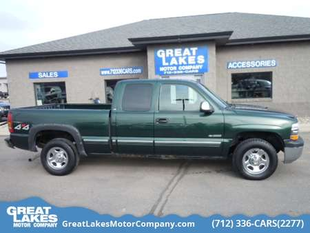 2002 Chevrolet Silverado 1500 LS 4WD Extended Cab for Sale  - 1568A  - Great Lakes Motor Company