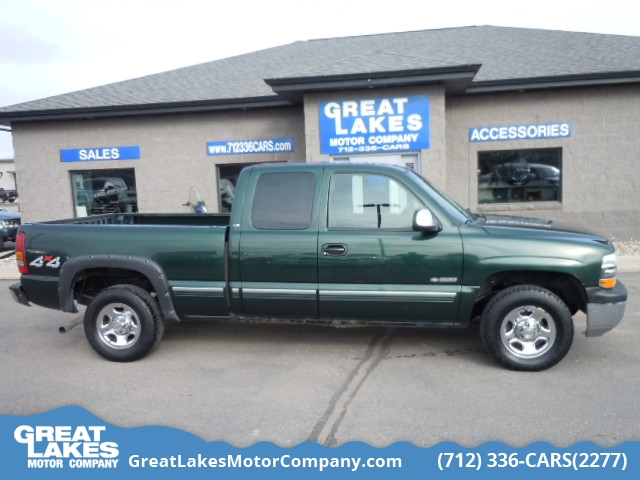 2002 Chevrolet Silverado 1500 LS 4WD Extended Cab  - 1568A  - Great Lakes Motor Company