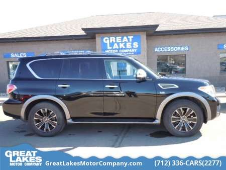 2017 Nissan Armada Platinum for Sale  - 1571A  - Great Lakes Motor Company