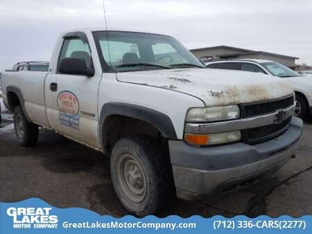 2002 Chevrolet Silverado 2500HD 4WD Regular Cab for Sale  - 1628A  - Great Lakes Motor Company