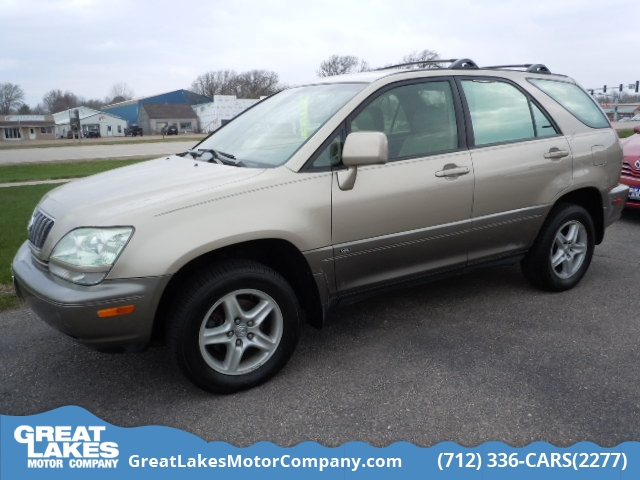 2003 Lexus RX 300 4WD  - 1650A  - Great Lakes Motor Company