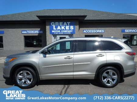 2016 Toyota Highlander Limited AWD for Sale  - 1659  - Great Lakes Motor Company