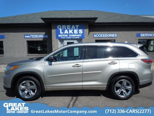 2016 Toyota Highlander Limited AWD  - 1659  - Great Lakes Motor Company
