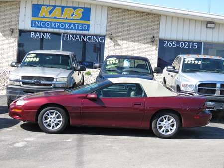 2000 Chevrolet Camaro Z28 for Sale  - Y22325E  - Kars Incorporated - DSM