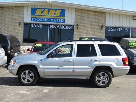 2004 Jeep Grand Cherokee Overland 4WD for Sale  - 416828E  - Kars Incorporated - DSM