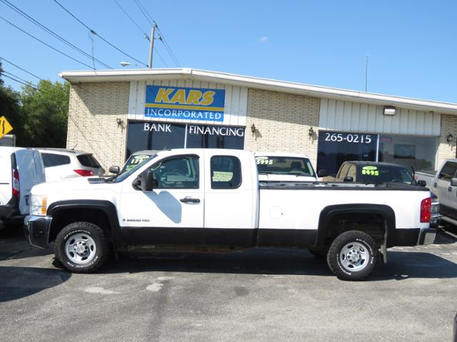 2008 Chevrolet Silverado 2500HD Work Truck 4WD Extended Cab  - 822698  - Kars Incorporated - DSM