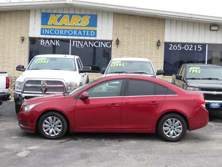 2011 Chevrolet Cruze LT w/1LT for Sale  - B96195E  - Kars Incorporated - DSM