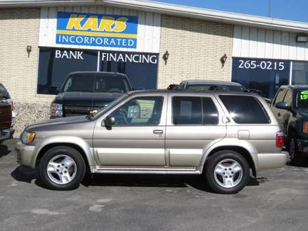 2003 Infiniti QX4 Luxury for Sale  - 352041E  - Kars Incorporated - DSM