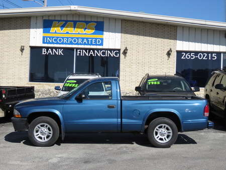 2003 Dodge Dakota Base Regular Cab for Sale  - 332186  - Kars Incorporated - DSM