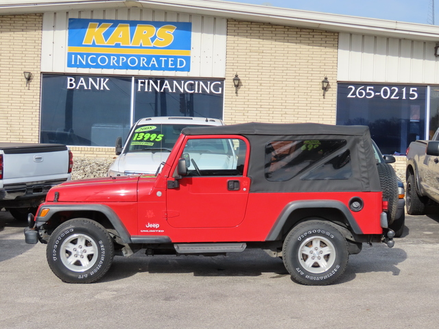 2004 Jeep Wrangler Unlimited  - 402717D  - Kars Incorporated - DSM