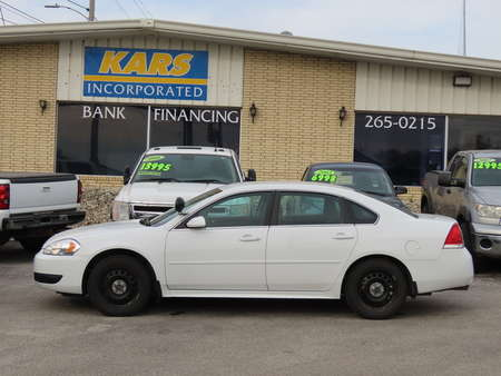 2013 Chevrolet Impala Police  for Sale  - D57019  - Kars Incorporated - DSM