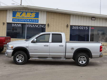 2007 Dodge Ram 1500 Laramie 4WD Quad Cab for Sale  - 717335D  - Kars Incorporated - DSM