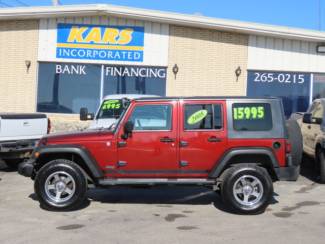 2008 Jeep Wrangler  - Kars Incorporated - DSM
