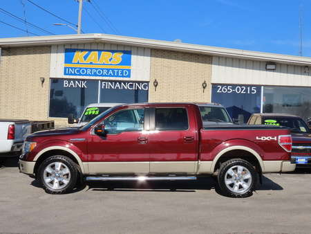 2010 Ford F-150 Lariat SuperCrew for Sale  - A59508  - Kars Incorporated - DSM