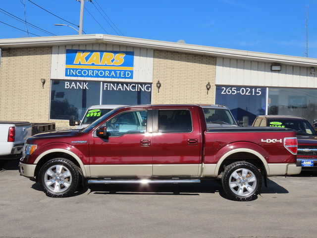 2010 Ford F-150 Lariat SuperCrew  - A59508  - Kars Incorporated - DSM