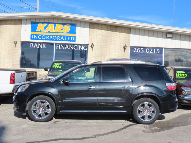 2012 GMC Acadia DENALI AWD  - C52998D  - Kars Incorporated - DSM
