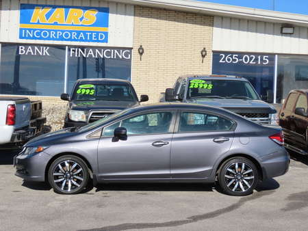 2015 Honda Civic EX-L for Sale  - F36661  - Kars Incorporated - DSM