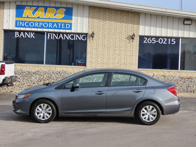2012 Honda Civic LX  - C06876  - Kars Incorporated - DSM